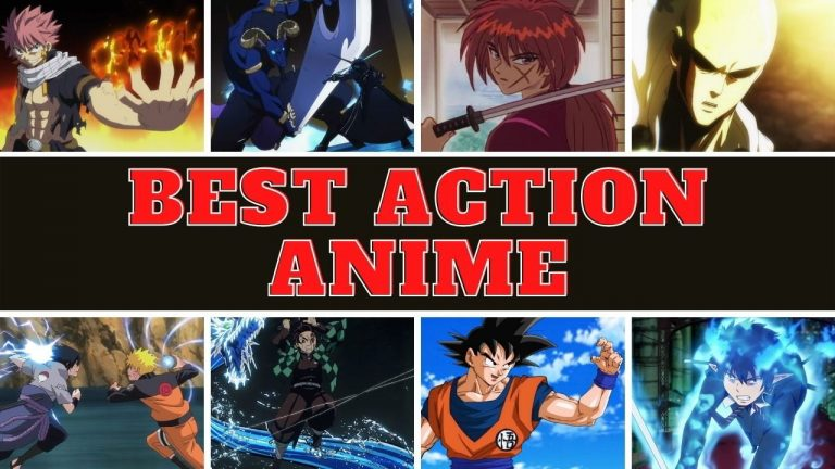 best action anime